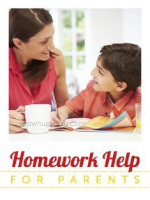 Homework Help for Parents - Grown Ups Magazine - Five steps to help you and your kids manage homework expectations.