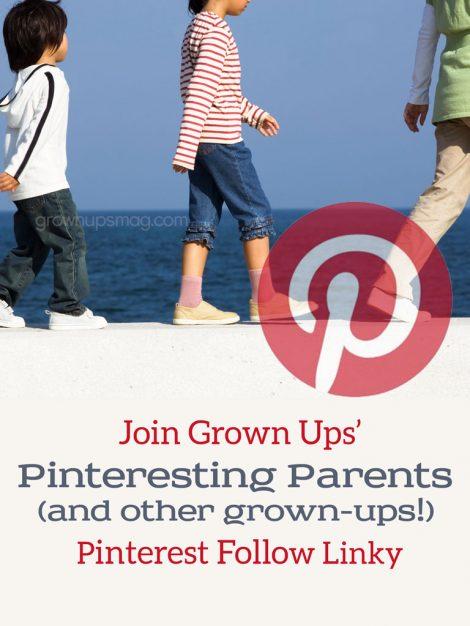 Grown Ups Magazine Pinterest Follow Linky