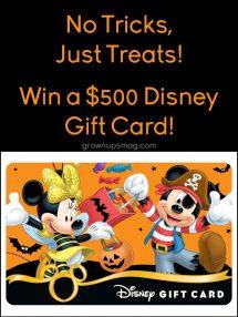Win Disney Gift Card