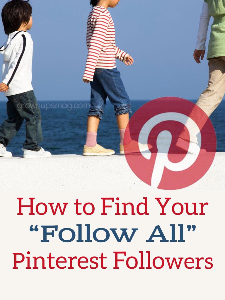 Find Your Follow All Pinterest Followers