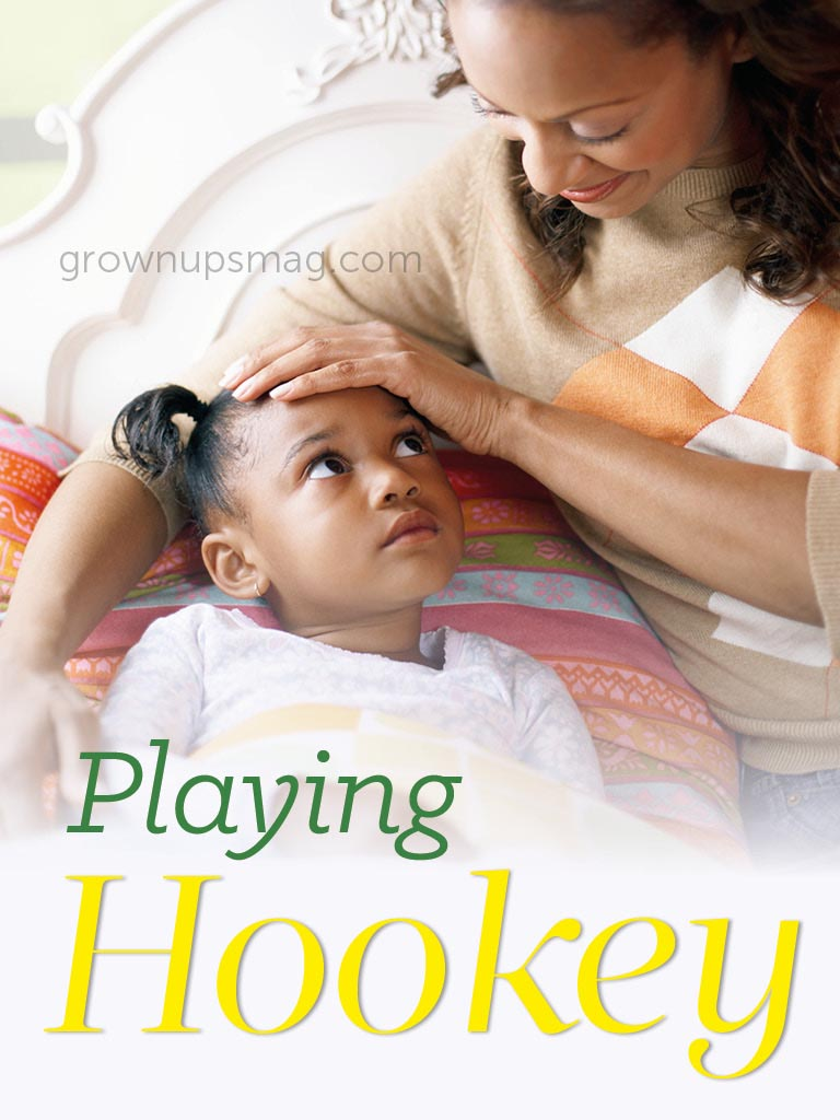 Playing Hookey - Grown Ups Magazine - When is your child too sick to go to school?