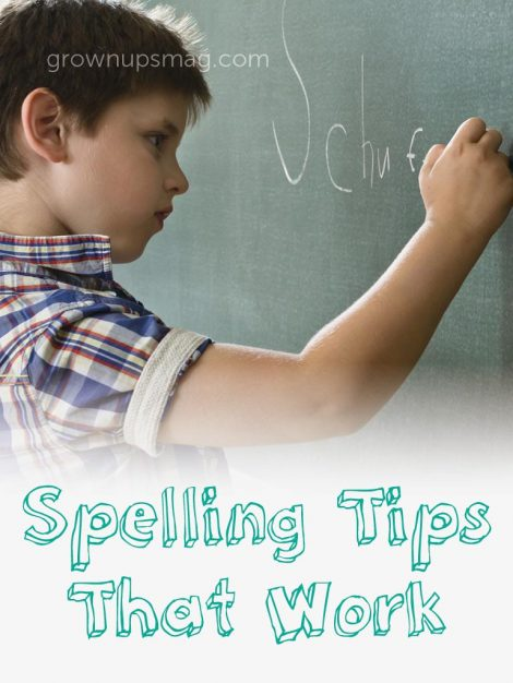 Spelling Tips That Work - Grown Ups Magazine - Adopting new, phoneme-based spelling practices can help your child develop language skills that go beyond the weekly spelling test.