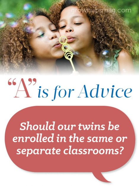 A is for Advice - Twins