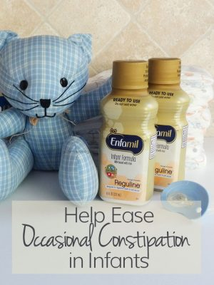 Help Ease Occasional Constipation in Infants with Enfamil® Reguline™ - Grown Ups Magazine - As a parent you want to give your child the very best. Feel comfortable feeding your child a formula that helps support digestive health.