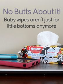 Other uses for baby wipes