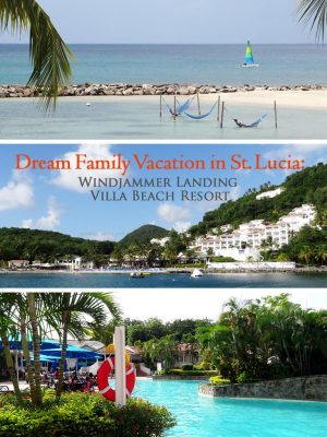 Dream Family Vacation in St. Lucia: Windjammer Landing Villa Beach Resort - Grown Ups Magazine - At Windjammer Landing, you're always in a vacation state of mind. Pull up a beach chair, relax, and enjoy the view.