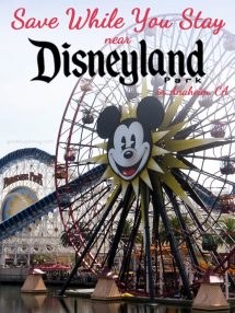 Save While You Stay Near Disneyland Park in Anaheim, CA - Grown Ups Magazine - We share some easy tips to make both your time and money go further when visiting Anaheim, CA. It's the home of Disneyland, Disney's California Adventure, and much more.